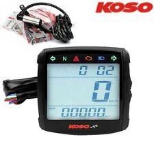 Compteur digital universel KOSO XR-01S essence cligno Scooter Moto 12V
