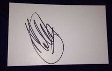 MATT CARDLE SIGNED 6X4 WHITE CARD MUSIC AUTOGRAPH POP THE X FACTOR 100% GENUINE