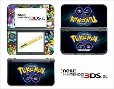 SKIN STICKER AUTOCOLLANT - NINTENDO NEW 3DS XL - REF 210 POKEMON GO