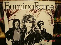 Burning Rome – Burning Rome    Vintage Promo LP  *see all pictures*