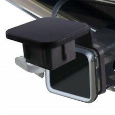 "2"" Black Rubber Trailer Hitch Receiver Cover Plug Cap SUV Truck Van RV 2 inch"