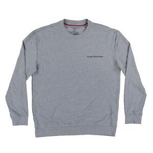 Tommy Hilfiger Mens Pajama Shirt Crew Neck Sleep Tee Pj Logo Sleepwear New Nwt