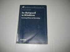 Der Marktprozeß an Aktienbörsen von Horst Bienert (1996, Taschenbuch)