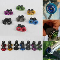 MEROCA 1 Paar Mehrere Farbe Fahrrad Lenker Bar Ends / Handlebar plug Endkappe