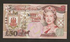 2006 Gibraltar £50 Pounds Uncirculated # P34a
