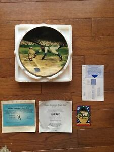 Mickey Cochrane - Black Mike- Delphi - Baseball MLB Limited Plate