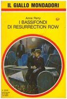 (Anne Perry) I bassifondi di Resurrection Road 1991 Mondadori il giallo 2225