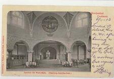 1903 Interior Hamburg Amerika Line Steamship postcard