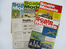 Scale Models Airplanes Tanks Cars Ships Soldiers Vintage Magazines 1970s