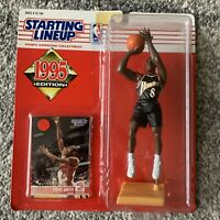 NIB 1995 Kenner Starting Lineup NBA Atlanta Hawks Steve Smith Basketball Toy