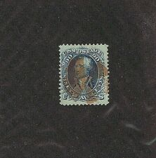 Sc# 72 Used, 90 Cent, Washington, Red Segmented Cork Cancel, Fine-Very Fine