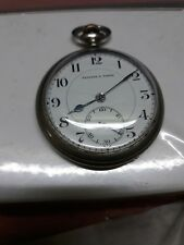 TAVANNES Antique Pocket Watch Co Hand Winding swiss Made working