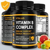 Vitamin B Immune Support Complex Vitamin B Immunity Health Supplements
