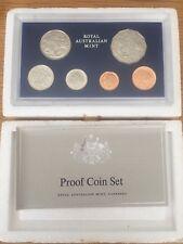 1980 AUSTRALIA PROOF COIN SET - FOAM CERTIFICATE NO SCRATCHES