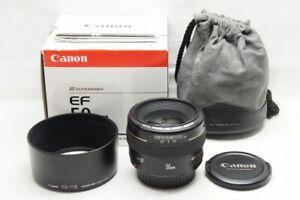 Canon EF 50mm F1.4 USM AF Standard Lens for EOS EF Mount w/ Box #210709x