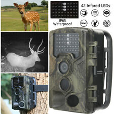 16MP 1080P Game & Trail Hunting Camera No Glow Night Vision Waterproof Deer Cam