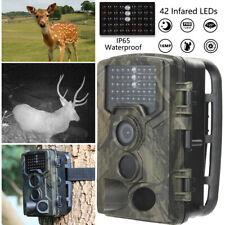 Uk 16Mp Hunting Trail Camera Hd 1080P Wildlife Scouting Cam Night Vision Ip65