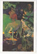 CP ART TABLEAU GAUGUIN PAUL Le cheval blanc n1