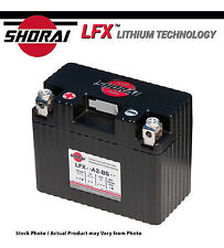 Shorai LFX Lithium Motorcycle Battery Kawasaki ZX636 Ninja 2003-2004-2005-2006