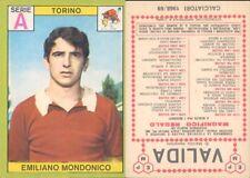 RARA FIGURINA CALCIATORI PANINI A-1968/69*TORINO, MONDONICO*NUOVA,PERFETTA,SUPER
