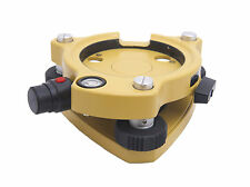 AdirPro Laser Tribrach for Total Station,GPS,Topcon,Sokkia,Trimble,Leica Yellow