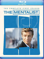 The Mentalist - The Complete First Season (Blu-ray Disc, 2013, 4-Disc Set)