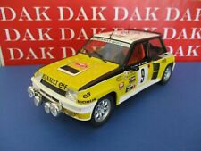 Die cast 1/18 Modellino Auto Renault 5 Turbo Rally Monte Carlo 1981 J.Ragnotti