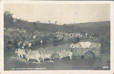 BRAZIL no Caminho Para Kermesse cazrriage RPPC 1910s PC