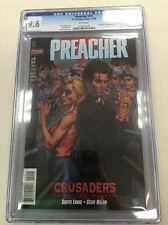 PREACHER #19 CGC 9.6 GARTH ENNIS, STEVE DILLON AMC TV SHOW HOT! WHITE PAGES