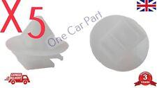 5x Trim Clips for Peugeot 106 206 207 306 307 806 Exterior Door Skirt Moulding
