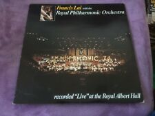 FRANCIS LAI with THE ROYAL PHILHARMONIC Live ROYAL ALBERT HALL 33t (a6)
