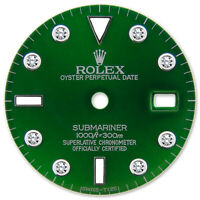 REFINED SUBMARINER SS GREEN DIAMOND DIAL FOR ROLEX-40