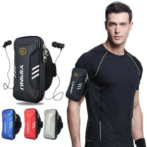 Armband Sports Running Jogging Gym Wallet Phone Holder Bag Reflective Waterproof