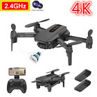 New RC Drone 4k HD Wide Angle Camera WiFi FPV Drone Dual Camera Quadcopter Gifts