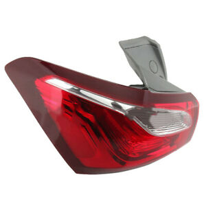 Rear Left Outer Tail Light Fit For Chevy Equinox 2018 2019 Plastic l