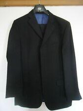 Daniel Hechter mens 2 piece black waffle regular fit suit