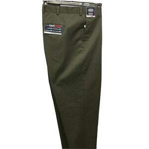 Roundtree & Yorke Travel Smart Ultimate Comfort Classic Fit Pants 50x332 Green