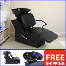 Backwash Beauty Salon Chair Sink Bowl Barber Shampoo Adjustable Chair Equipment