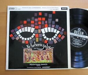 SXL 2268 ED1 Rimsky-Korsakov Scheherazade Ansermet NM Decca WBG 1st 1D 1D