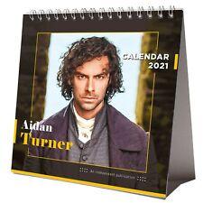 Aidan Turner 2021 Desktop Calendar NEW Sexy