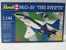 REVELL #04007 model kit MiG-29 THE SWIFTS 1:144 New in box