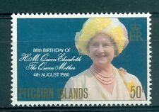 H.M. QUEEN ELIZABETH MOTHER 80th BIRTHDAY - PITCAIRN 1980