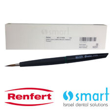 Dental lab Natural hair bristle ceramic brush Building up Renfert Genius №6