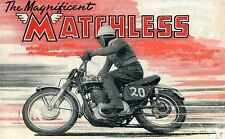 MATCHLESS WORKSHOP & SERVICE MANUALs 110pgs with Motorcycle Overhaul & Repair