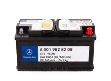 12v 95 Ah VARTA batteria di avviamento AGM Mercedes-Benz a001 982 82 08 g14 ORIGINALE