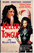 """VHS - FSK 18 - """" Killer TONGUE """" (1996) - Melinda Clarke  -- VPS"""