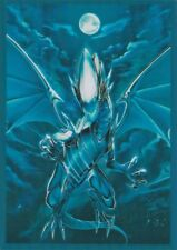 100 Yugioh Small Size Card Sleeves Deck Protector - Blue-Eyes White Dragon