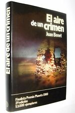 EL AIRE DE UN CRIMEN - JUAN BENET