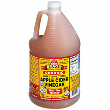 Raw Organic Apple Cider Vinegar with The Mother (1 Gallon)