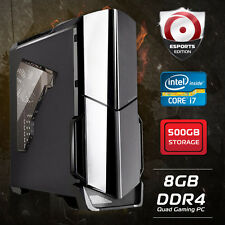 Origin PC INTEL Quad Core i7 7700 4.2GHz, 500GB HDD, 8GB DDR4 Gaming Desktop